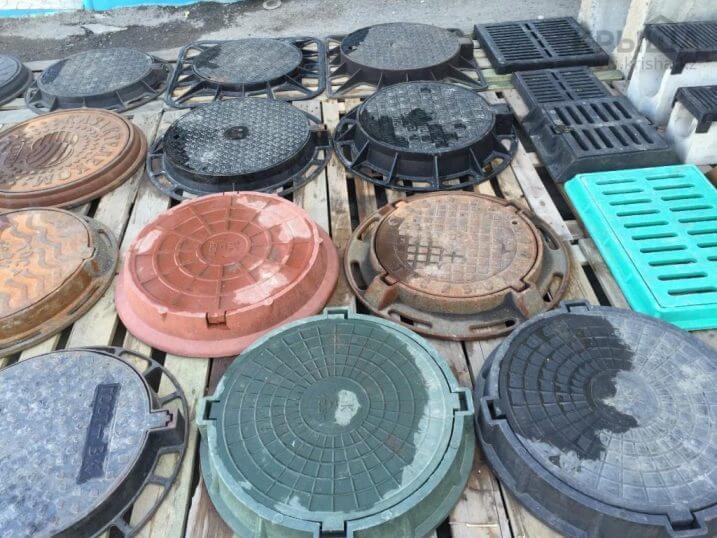 Полимерно-песчаные и пластиковые канализационные люки