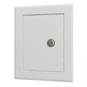 Люк-дверца металлическая с замком евент